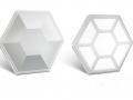 Trần nhôm Lục giác Hexagon